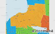 Political Map of Oswego County