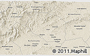 Shaded Relief 3D Map of Caldwell County
