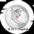 Maps of ZIP code 43602, Ohio