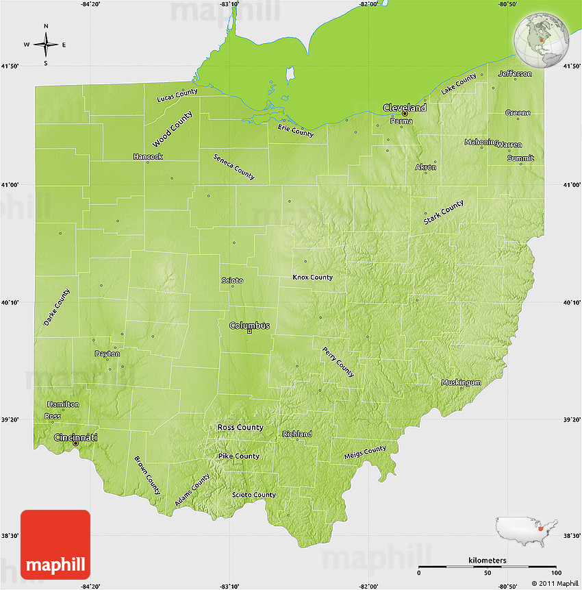Ohio Geography: The Land - EReferenceDesk
