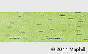 Physical Panoramic Map of Payne County