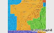 Political Map of Umatilla County