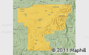 Savanna Style Map of Umatilla County