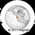 Outline Map of Umatilla County