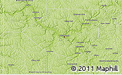 Physical 3D Map of Allegheny County