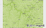 Physical Map of Allegheny County