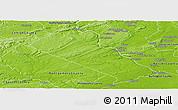 Physical Panoramic Map of Bucks County