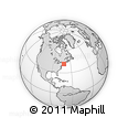 Outline Map of ZIP Codes Starting with 028