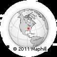 Outline Map of ZIP Code 37214