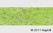Physical Panoramic Map of ZIP code 37214