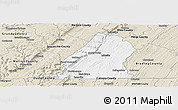 Classic Style Panoramic Map of Hamilton County