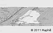 Gray Panoramic Map of Hamilton County