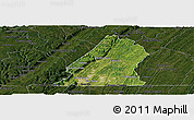 Satellite Panoramic Map of Hamilton County, darken