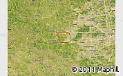 Satellite Map of ZIP code 77494