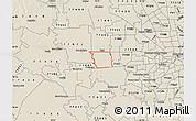 Shaded Relief Map of ZIP code 77494