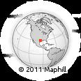 Outline Map of ZIP Code 77494
