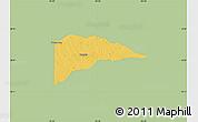 Savanna Style Map of Delta County