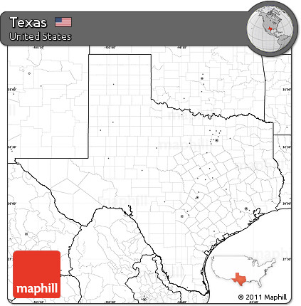 Free Printable Map Of Texas.Free Blank Simple Map Of Texas No Labels