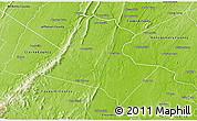 Physical 3D Map of Loudoun County