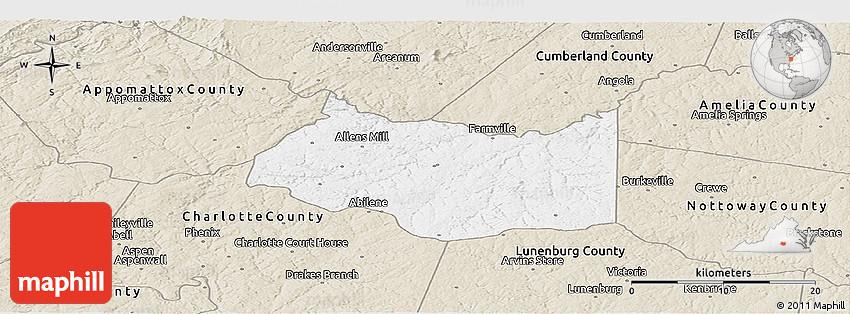 prince edward county map pdf