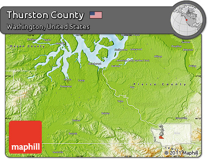 Free Physical Map of Thurston County on map of pickerington, map of steuben county, map of campbell, map of south eugene, map of burns park, map of stevens, map of urbana, map of canal winchester, map of deschutes, map of elmira area, map of yakima, map of pierce, map of ferry, map of thornville, map of seaholm, map of chelan, map of fairfield county, map of corning, map of mason, map of snohomish,