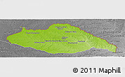 Physical Panoramic Map of ARTIGAS, desaturated