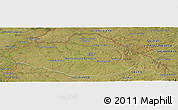 Satellite Panoramic Map of ARTIGAS