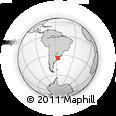 Outline Map of Rio Santa