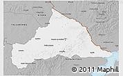 Gray 3D Map of CERRO LARGO