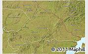 Satellite 3D Map of CERRO LARGO