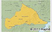 Savanna Style 3D Map of CERRO LARGO