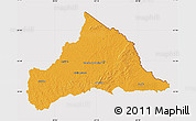 Political Map of CERRO LARGO, cropped outside