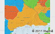 Political Map of CERRO LARGO