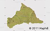Satellite Map of CERRO LARGO, cropped outside
