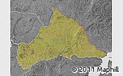 Satellite Map of CERRO LARGO, desaturated