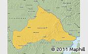 Savanna Style Map of CERRO LARGO