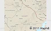 Shaded Relief Map of CERRO LARGO