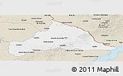 Classic Style Panoramic Map of CERRO LARGO
