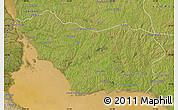 Satellite Map of COLONIA