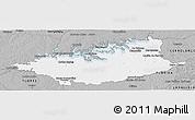 Gray Panoramic Map of DURAZNO