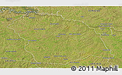 Satellite Panoramic Map of FLORES