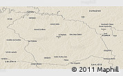 Shaded Relief Panoramic Map of FLORES