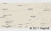 Shaded Relief Panoramic Map of FLORIDA