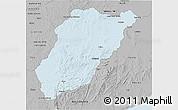 Gray 3D Map of LAVALLEJA
