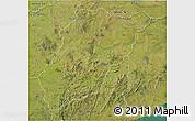 Satellite 3D Map of LAVALLEJA