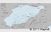 Gray Panoramic Map of LAVALLEJA