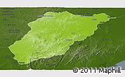 Physical Panoramic Map of LAVALLEJA, darken