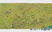 Satellite Panoramic Map of LAVALLEJA