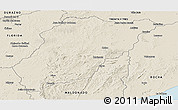 Shaded Relief Panoramic Map of LAVALLEJA