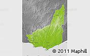 Physical Map of MALDONADO, desaturated